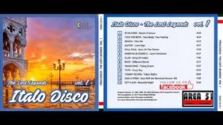 VA - ITALO DISCO - THE LOST LEGENDS VOL.01 (2017)(FULL ALBUM)