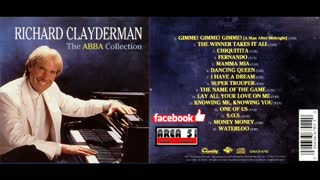 RICHARD CLAYDERMAN - THE ABBA COLECTION (1993)(FULL ALBUM)