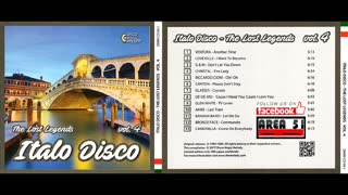 VA - ITALO DISCO - THE LOST LEGENDS VOL.04 (2017)(FULL ALBUM)