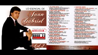 JUAN GABRIEL - LO ESENCIAL (CD2)(2009)(FULL ALBUM)