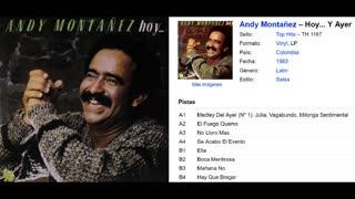 ANDY MONTAÑEZ - HOY Y AYER (1983)(FULL ALBUM)